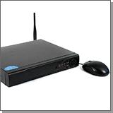 Гибридный 4-х канальный видеорегистратор SKY-H2004-4G со встроенным 4G модемом