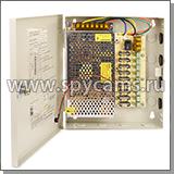 Блок питания «KDM-12В, 10А» 9-ти канальный