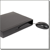 4-канальный гибридный видерегистратор HDcom-H5004-3G с удаленным доступом через интернет