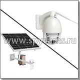 Комплект 3G/4G камеры видеонаблюдения на солнечных батареях «Link Solar NC67G-60W-40AH»