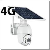 Уличная автономная поворотная 4G камера Link Solar S11-4GS с солнечной батареей