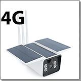 Камера с солнечной батареей с сим картой Link Solar S5-4GS